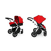 ickle bubba Stomp V2 2-in-1 Pushchair (Red)