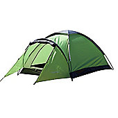 North Gear Camping Mono 2 Man Waterproof Dome Tent Green