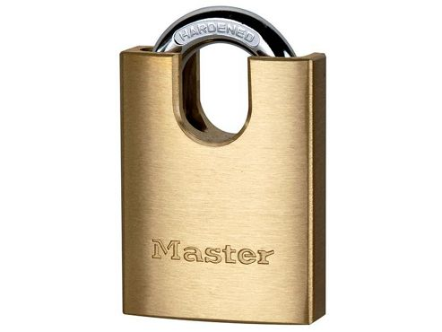 Master Lock 2240EURD 40mm Brass Padlock Shrouded Shackle