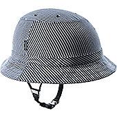 YAKKAY Tokyo Blue Stripe Helmet Cover: Large (57-59cm).