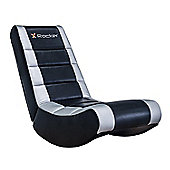 X Rocker Video Rocker - Black / Silver