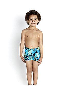 Speedo Infant Boy's Essential Allover Aquashort - Navy