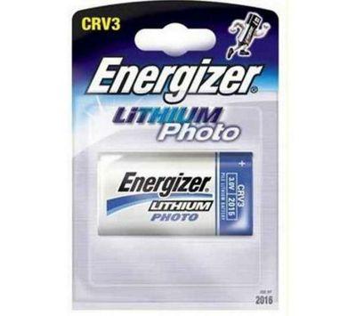 Energizer CRV3 Lithium Photo Camera Battery