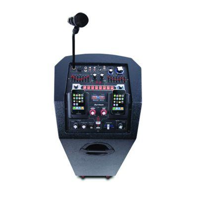 DJ Tech Twin iPod Portable PA System - iBoost 303