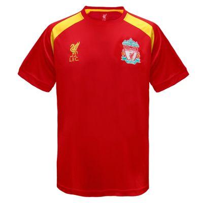 Liverpool FC Boys Poly T-Shirt Red 6-7 Years SB