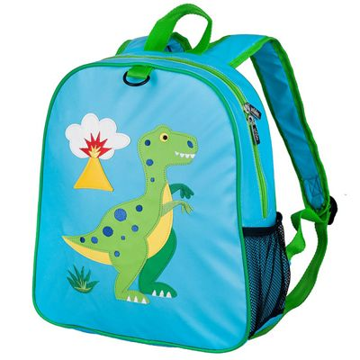 Toddler Backpacks, Kids Embroidered Backpack – Dinosaur