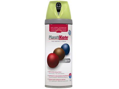 Plasti-kote Twist & Spray Satin Pistachio 400ml