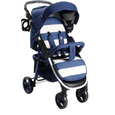 My Babiie Billie Faiers MB30 Pushchair (Blue Stripes)