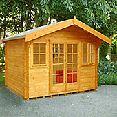 Finewood Clipstone Wooden Log Cabin, 16x14ft