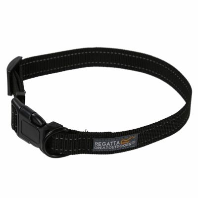 Regatta 45-70cm Comfort Dog Collar - Black