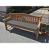 Four Seater Bench Cushion Dove Grey