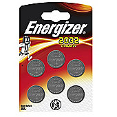 Energizer CR2032 Lithium 3V Coin Batteries (6 Pack)