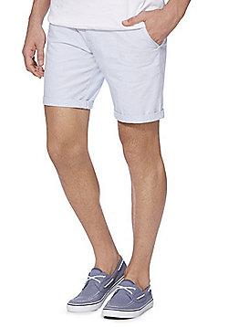 F&F Chino Shorts with Belt - Blue