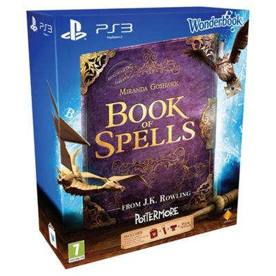 Book Of Spells And Wonderbook And Starter Pack