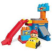 Fisher Price Mega Bloks Spinning Garage
