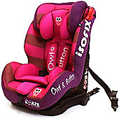 iSafe ISOFIX Duo Trio Plus Car Seat (Owl & Button)