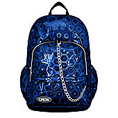 Chok Holographic 3D Blue Backpack