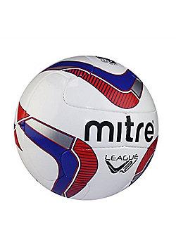 Mitre League TW V12 Football - White