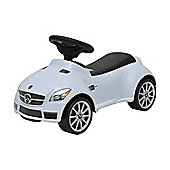 Homcom Mercedes SLK 55 AMG Kids Push Along Ride On Toy (White)