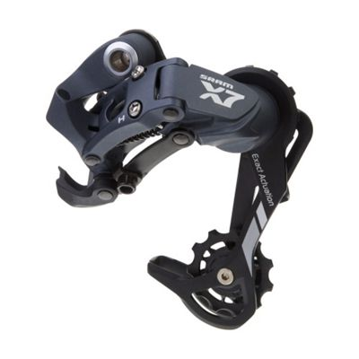 SRAM X7 Rear Derailleur - (9spd) - Medium Cage - Storm Grey