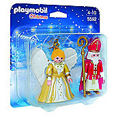 Playmobil St. Nicholas and Christmas Angel - Dolls and Playsets