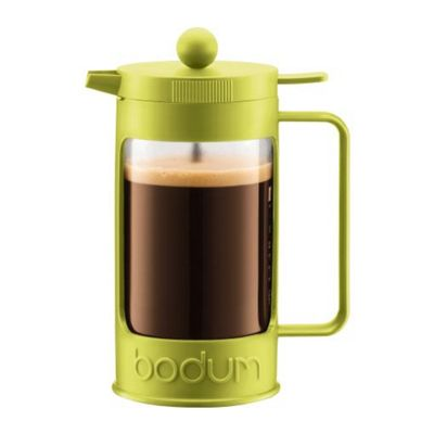 Bodum BEAN Coffee Maker, 3 Cup, 0.35L, Limegreen