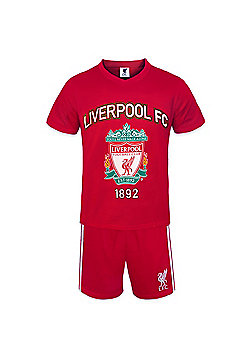 Liverpool FC Boys Short Pyjamas - Red