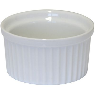 Apollo 6.5cm x 2.5cm White Ceramic Ramekin