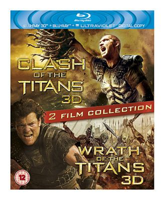 Wrath Of The Titans Double Pack (Blu-ray Boxset)