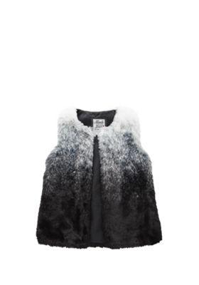 F&F Dip Dye Faux Fur Gilet 5-6 years Multi
