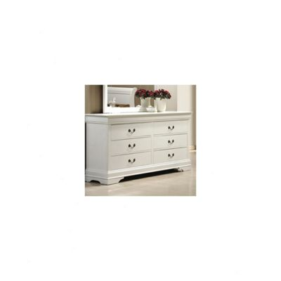 Elements Zurich 6 Drawer Chest - White