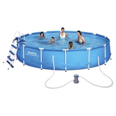 Buy Bestway 15ft Steel Pro Frame Pool from our Garden Swimming Pools ...