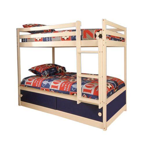 Buy Comfy Living 3ft Single Childrens Slide Storage Bunk