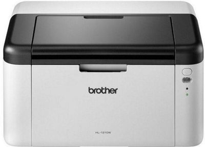 Brother HL-1210W Mono Laser Wireless Printer, 20ppm, 150 Sheet Tray