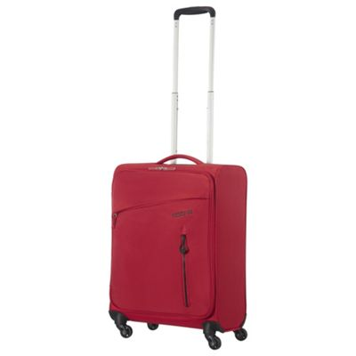 American Tourister Litewing Cabin 4 Wheel Red Suitcase