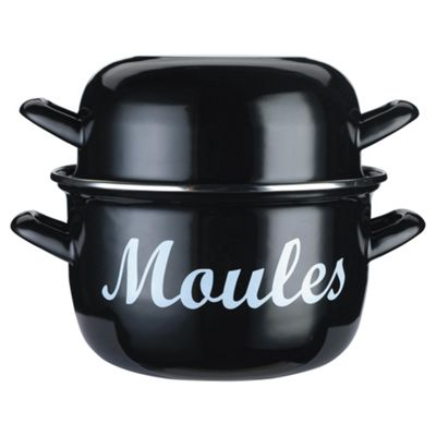 Kitchen Craft World of Flavours Mediterranean Mussels Pot
