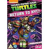 Teenage Mutant Ninja Turtles: Return To NYC S3, V2 DVD