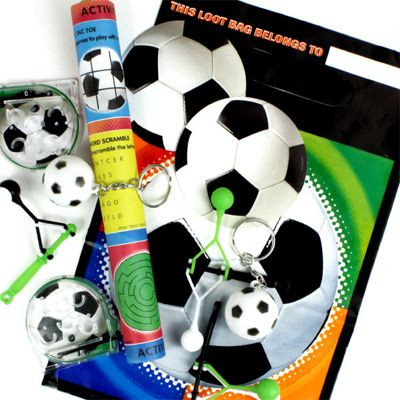 Championship Soccer Favour Pack