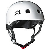 S1 Helmet Company Mini Lifer Helmet - White Gloss (Medium)