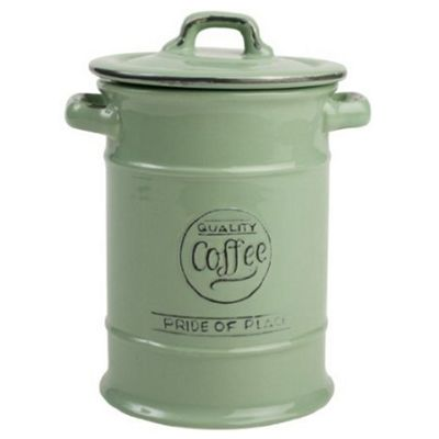 T&G Pride of Place Coffee Storage Jar, Green