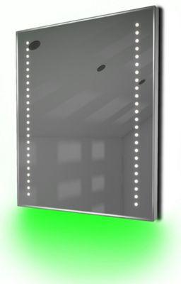 Ambient Shaver LED Bathroom Illuminated Mirror With Demister Pad & Sensor K55sg