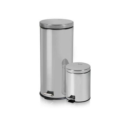 Swan 30L & 5L Pedal bins
