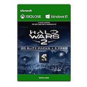 Halo Wars 2: 23 Blitz Packs