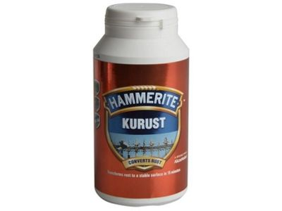 Hammerite Kurust Bottle 250ml Car Maintenance Rust Care HAMMERITE ANTI ANTI-RUST 6700245 HAM6700245 5092820