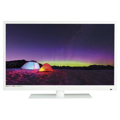 Technika 32E21W-FHD/DVD 32 Inch Full HD 1080p Slim LED TV/DVD Combi With Freeview - White