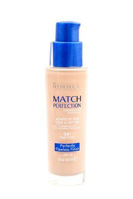 Rimmel Match Perfection Foundation SPF18, 30ml 081 Fair Ivory