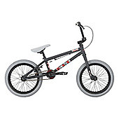 "Haro Downtown 18"" Wheel BMX Bike Matt Black"