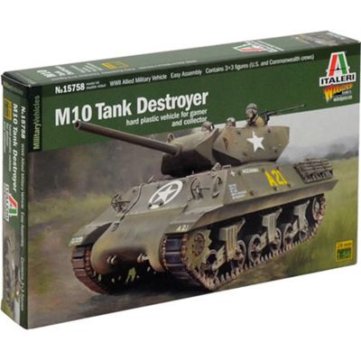 ITALERI W15758 M10 Tank Destroyer 1:56 Military Model Kit