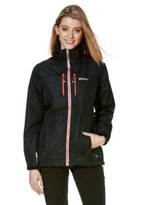 Regatta Calderdale II Waterproof Jacket 10 Black