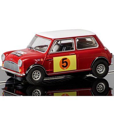 SCALEXTRIC Slot Car C3747 Mini Cooper S - RAC Rally 1966
